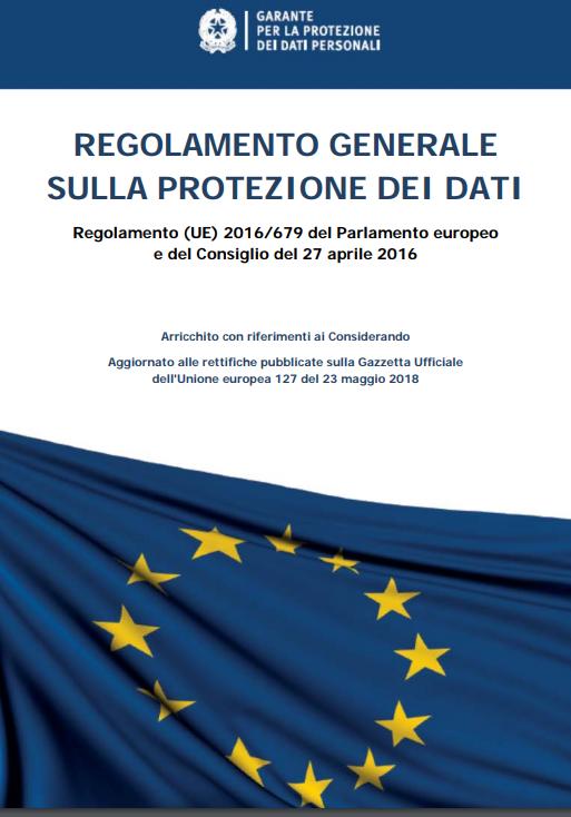 Considerando e aggiornato alle rettifiche pubblicate sulla Gazzetta Ufficiale dell'Unione europea 127 del 23 maggio 2018