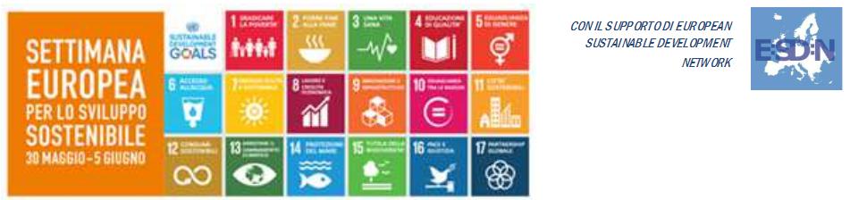 Settimana Europea per lo Sviluppo Sostenibile