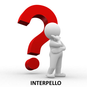 interpello 2019