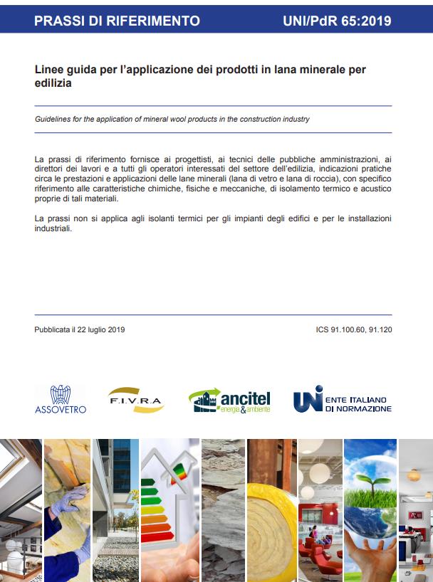 Linee guida per l'applicazione dei prodotti in lana minerale per edilizia