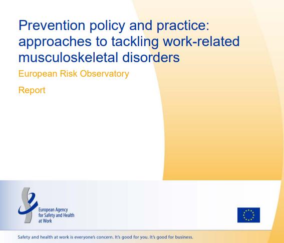 Politica e prassi per la prevenzione documento EU-OSHA