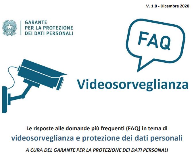 FAQ Garante Privacy