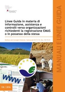 Linee Guida organizzazioni richiedenti la registrazione EMAS o in possesso della stessa