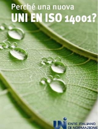Cos'è la UNI EN ISO 14001