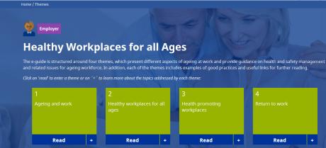 gestire l'invecchiamento sul lavoro