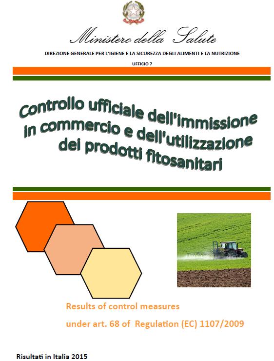 Immissione in commercio e dell'utilizzazione dei prodotti fitosanitari