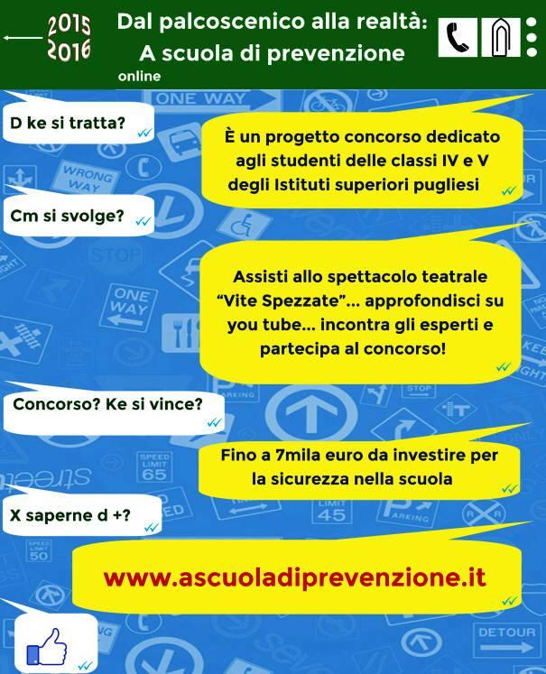 Scopo della iniziativa è avvicinare gli studenti delle Scuole Secondarie di Secondo grado della Puglia