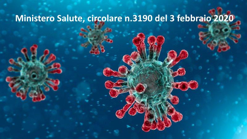 coronavirus circolare